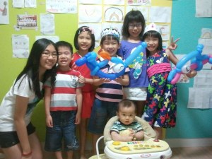 7 kids