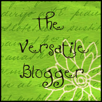 My very first blogging award – The Versatile Blogger