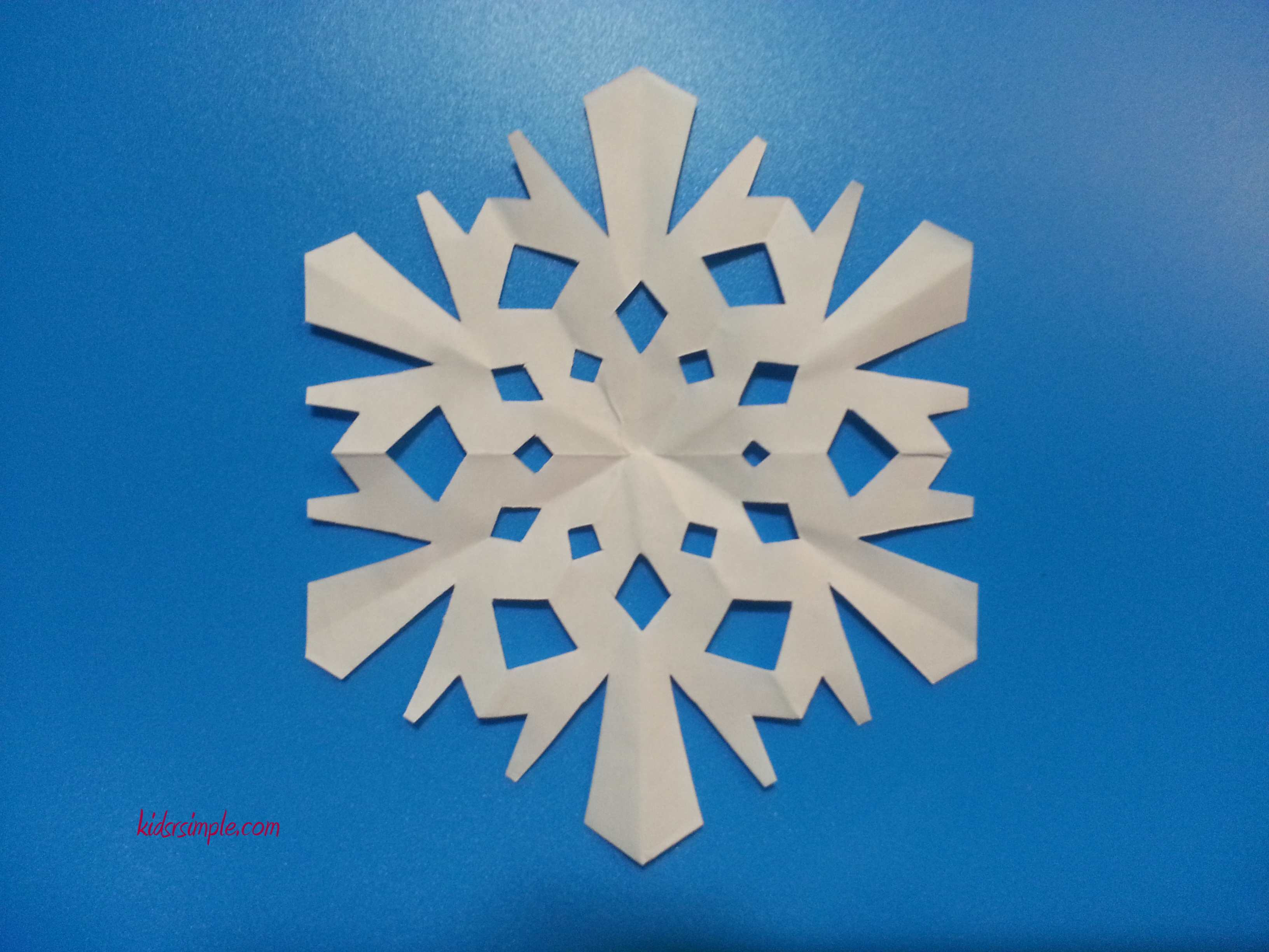 Christmas Craft Make Your Own Paper Snowflakes Kids R