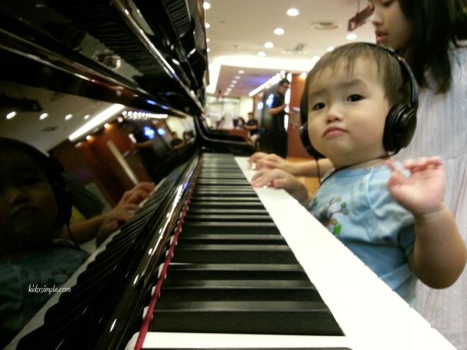 Little YT at Yamaha