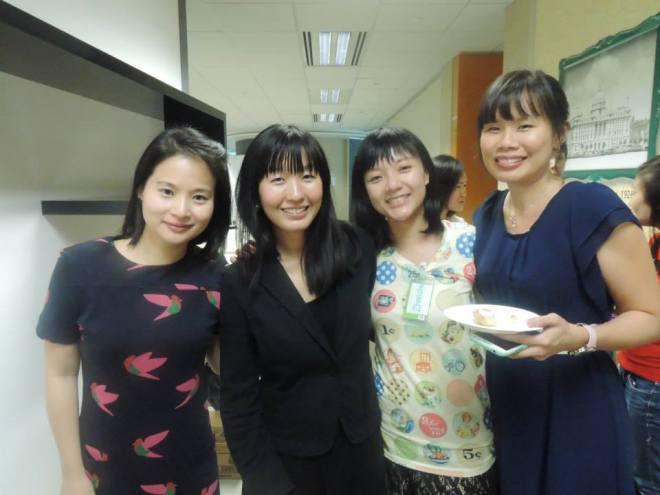 Rachel, Summer, Zhenzhu and me!