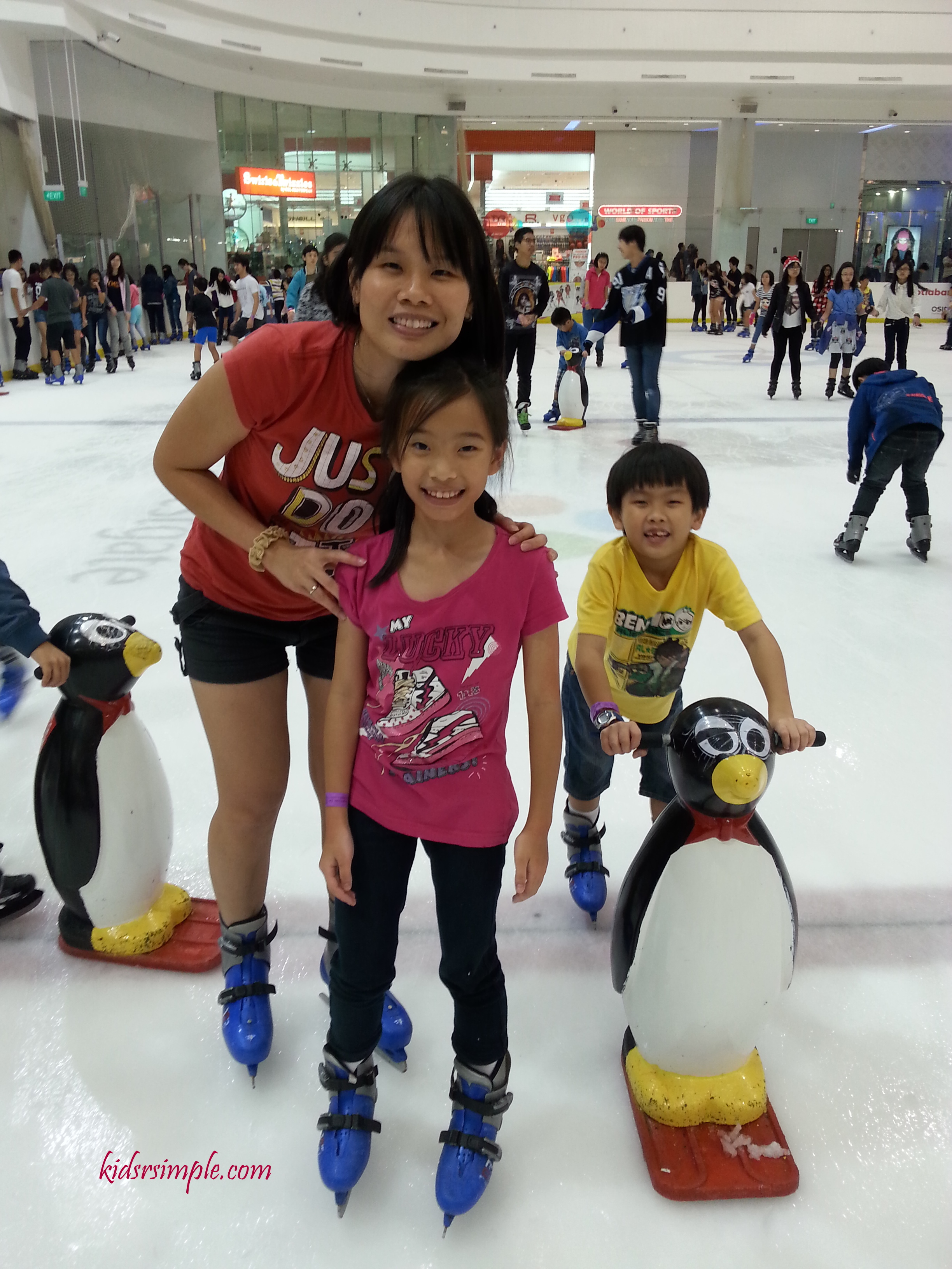 Ice Skating In Singapore The Rink At Jcube Kids R Simple