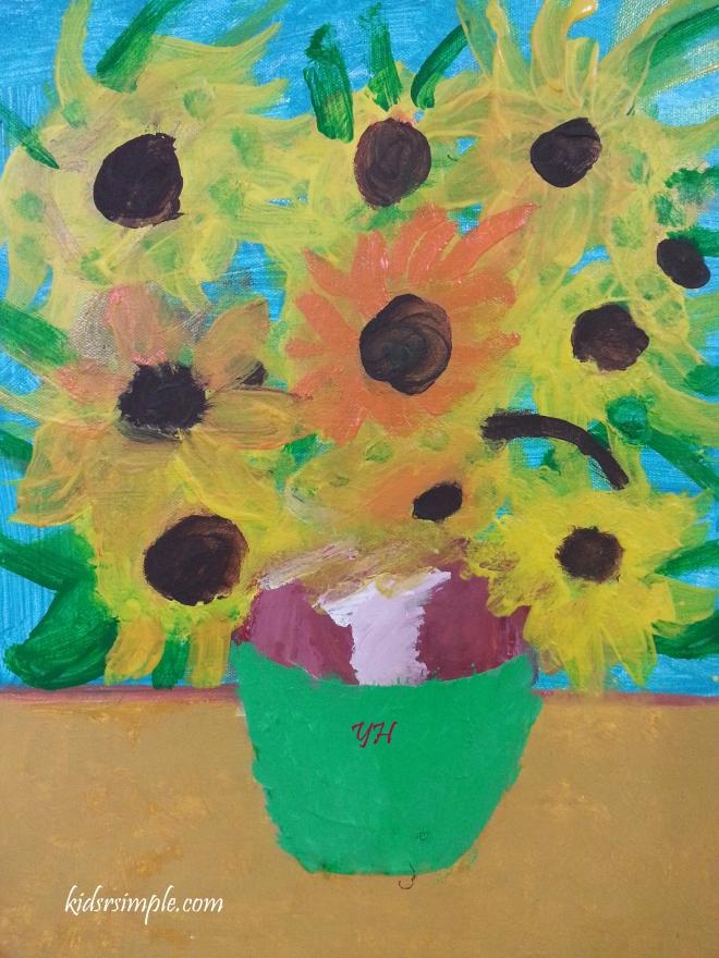 YH Sunflowers