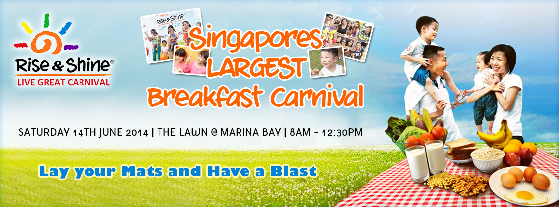 Rise and Shine Breakfast Carnival 2014 + GIVEAWAY!!