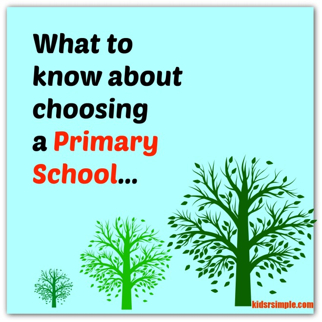 Choose primary school