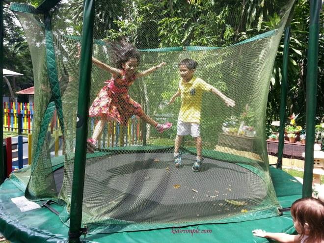 Trampoline for older kids