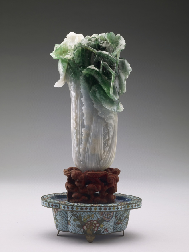 The very famous Jadeite Cabbage