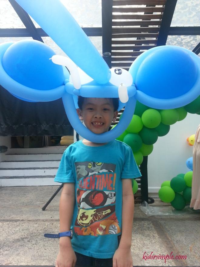 Cute elephant balloon!