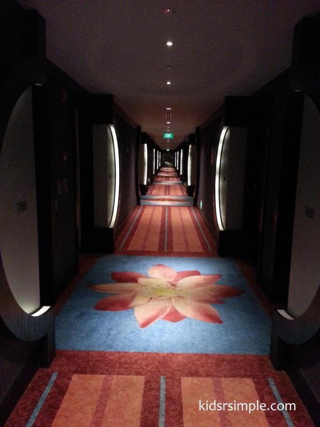 Room walkway