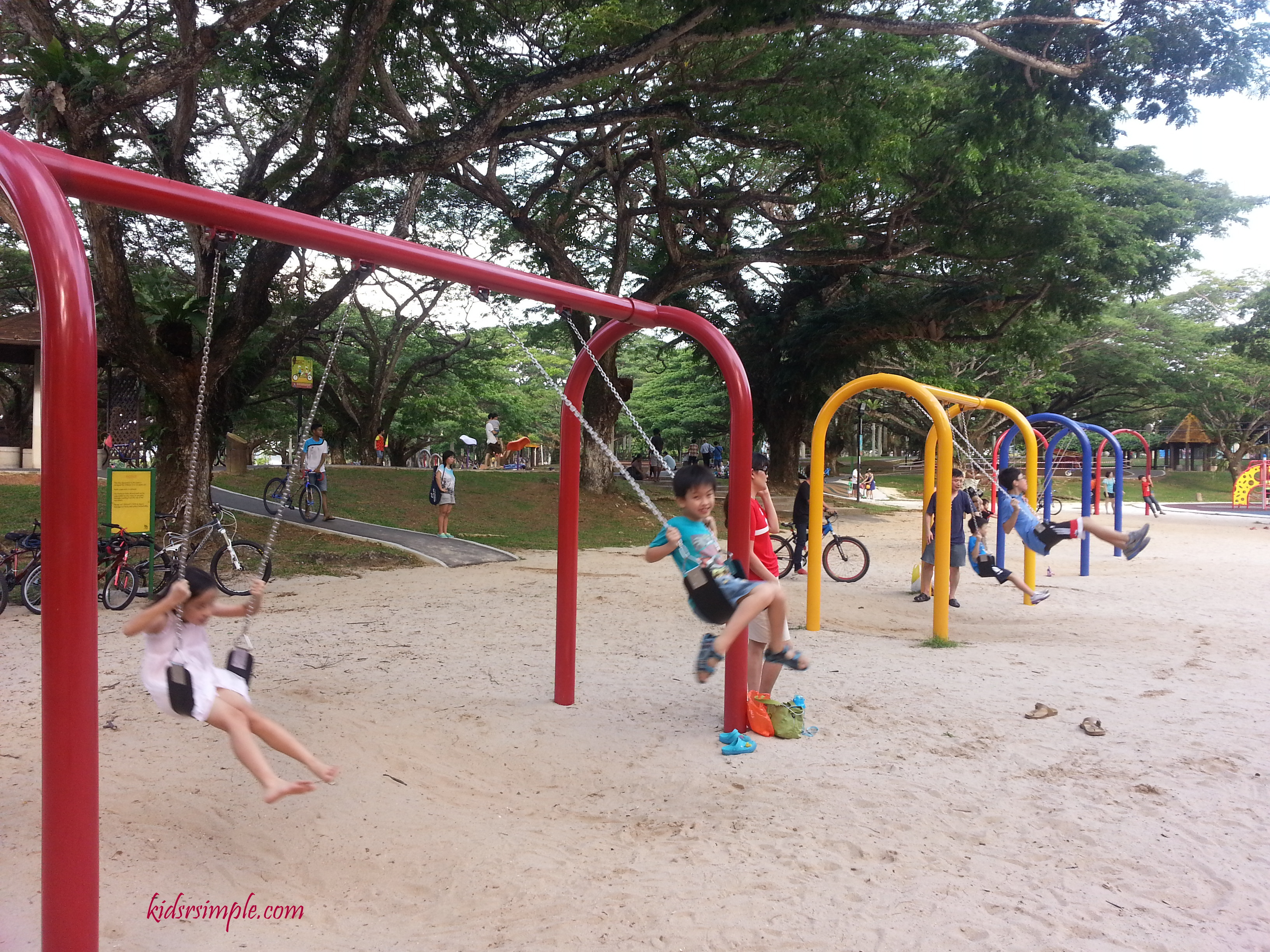 Pasir Ris Park Playground Finally Reopens Kids Quot R Quot Simple