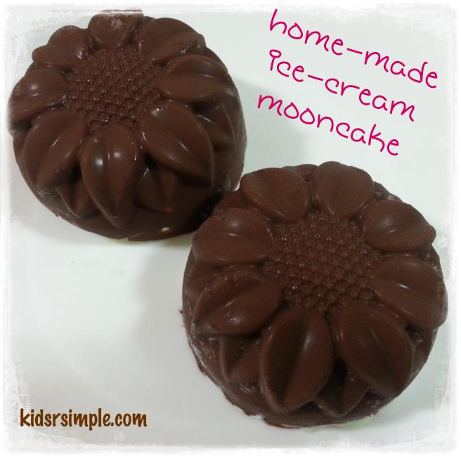 Home-made Ice-cream mooncake