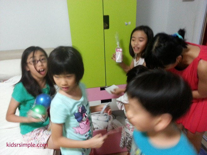 Group 1 found their treasure!