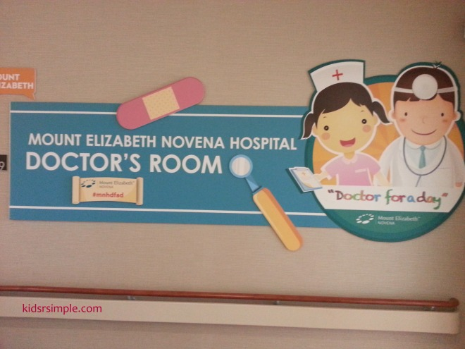 doctor room sign