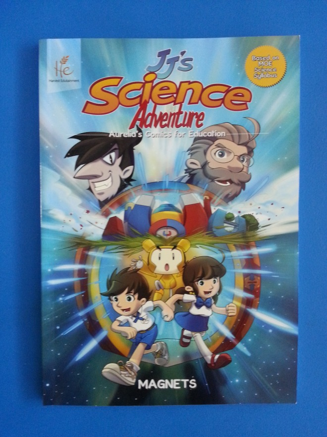 Science Comic – JJ's Science Adventure Book Review {+Giveaway}