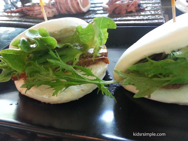 Japanese stew pork bun (2 buns) $8