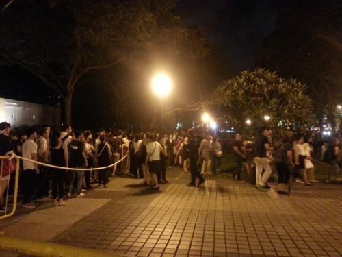 Night queues