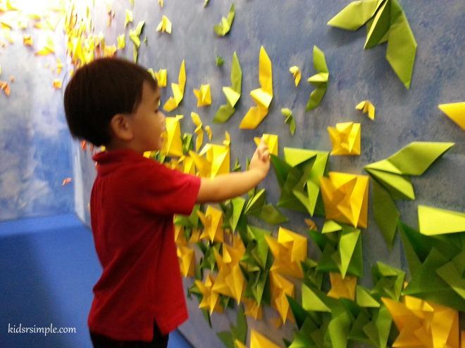 Origami wall 2