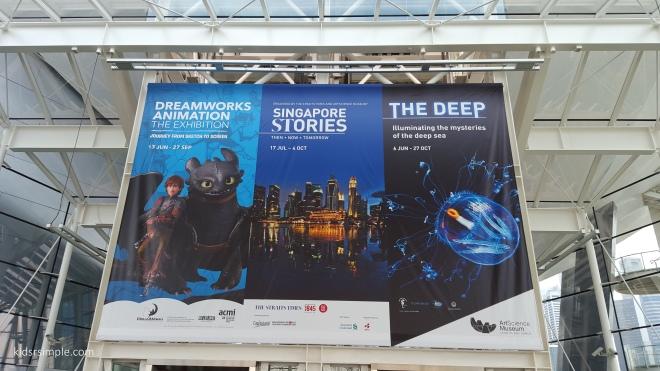 3 exhibitions