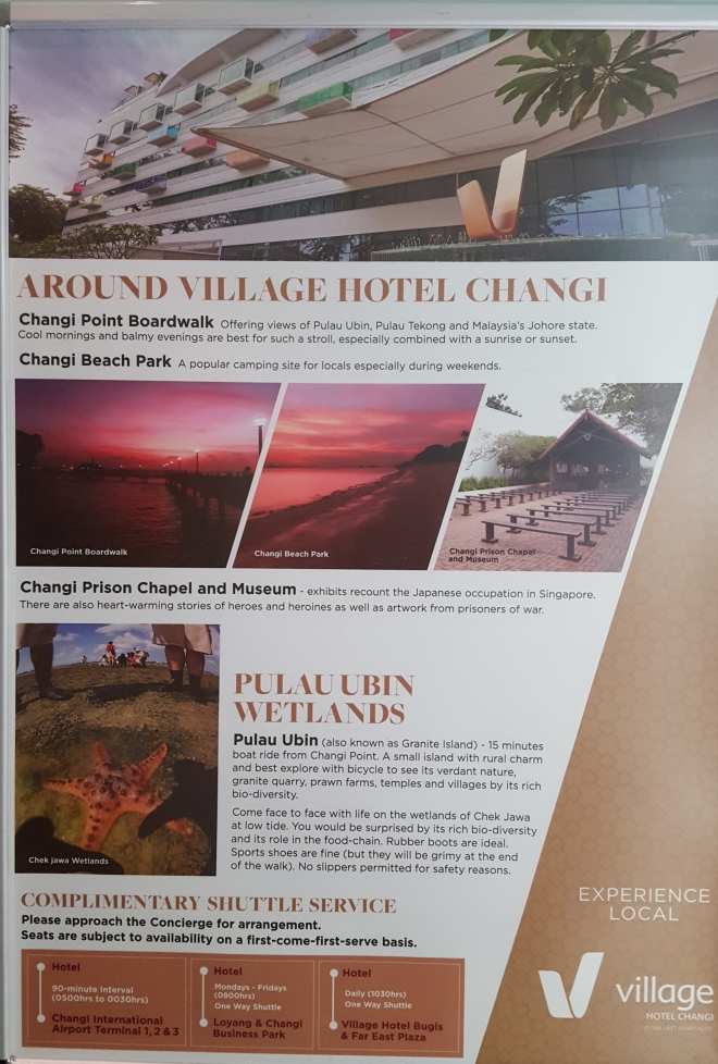 Things you can do around Village Hotel Changi