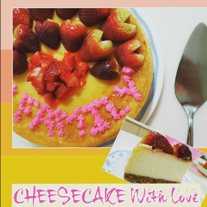 Cheesecake with love