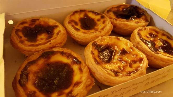 Lord Stow's portuguese egg tarts