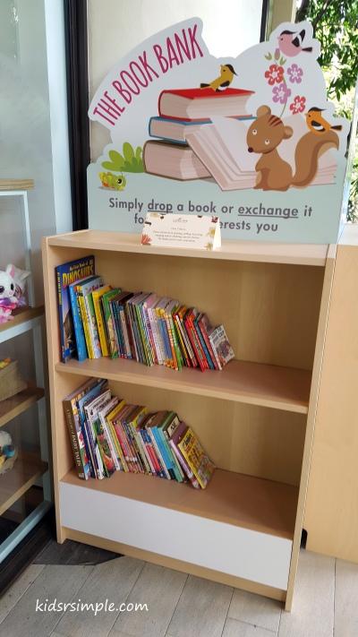 Book Bank at the Gardens