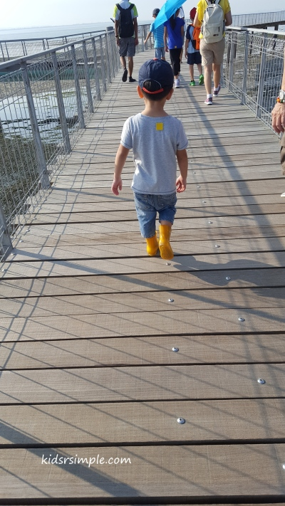 My little boy in yellow boots! Little 'Phua Chu Kang' sighted???